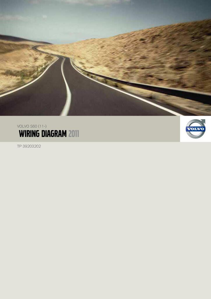 2011 Volvo S60 Wiring Diagram Service Manual Pdf  30 3 Mb